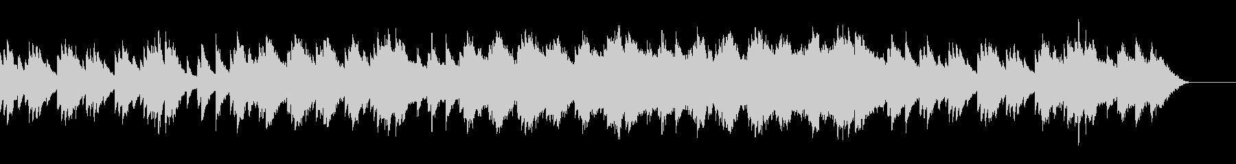 劇伴_切ないシーンの少し感動的なBGMの未再生の波形