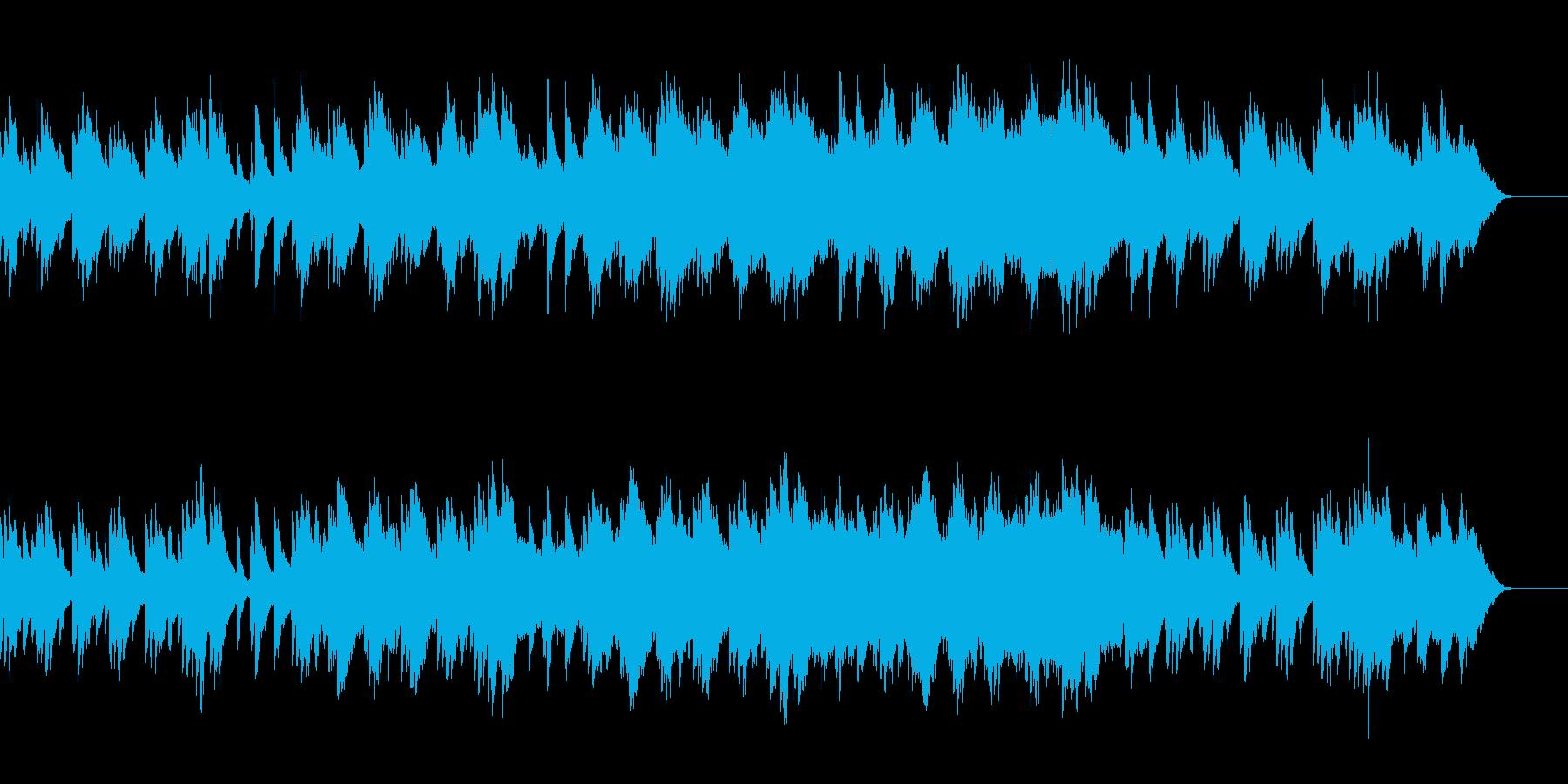 劇伴_切ないシーンの少し感動的なBGMの再生済みの波形