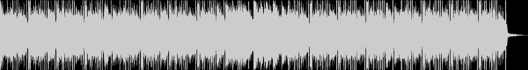 スムーズでゴージャスな洋楽トラップビートの未再生の波形