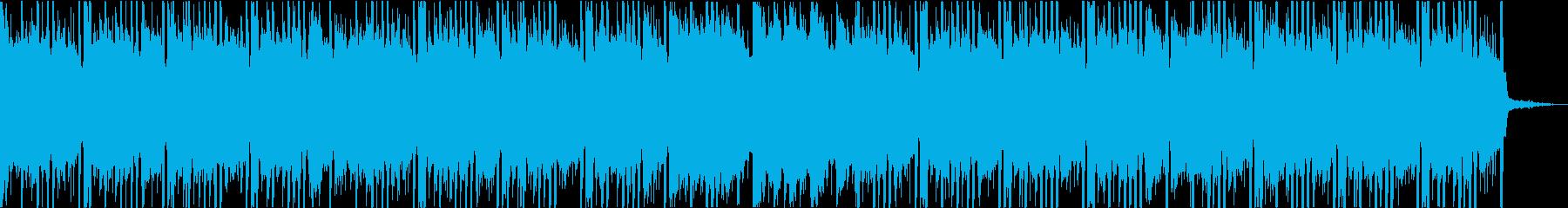 スムーズでゴージャスな洋楽トラップビートの再生済みの波形