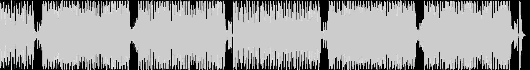 サンバ・デ・ジャネイロのようなBGMの未再生の波形
