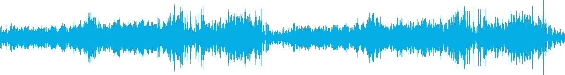 ドラクエの街風RPGオーケストラ曲・ルーの再生済みの波形
