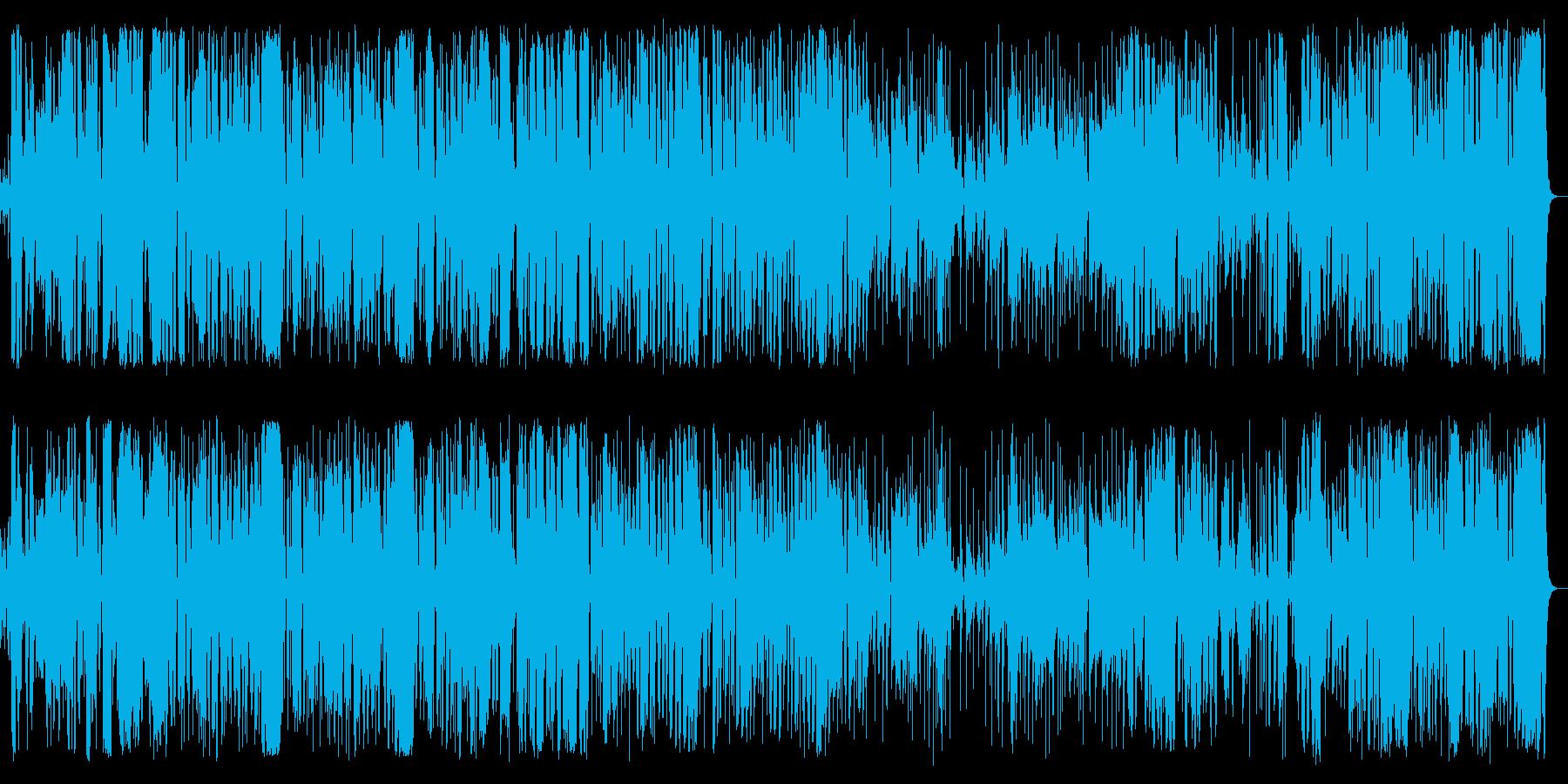 明るいjazz popsです。の再生済みの波形