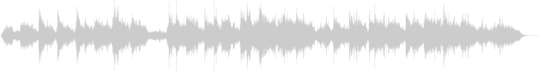 A very mysterious melody's unreproduced waveform