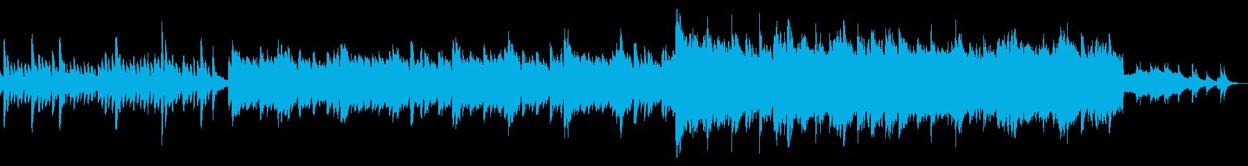 海と自然を連想できる曲(シネマ)の再生済みの波形