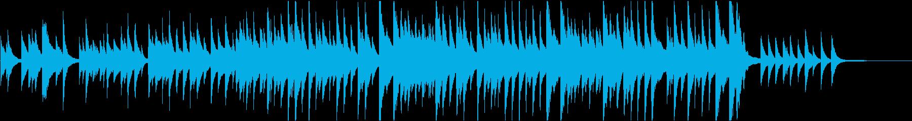 牧人ひつじを ピアノ ジャズの再生済みの波形