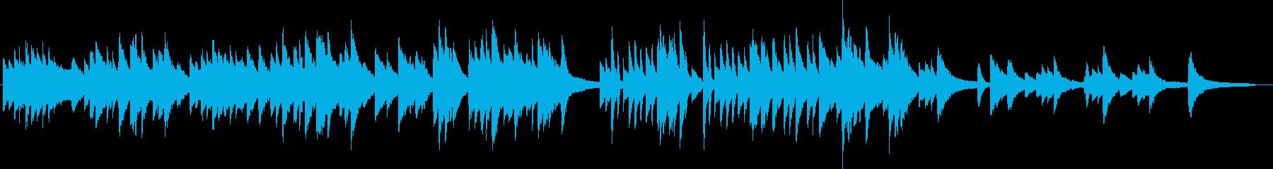 ピアノ生演奏/和風・故郷・お茶・夕暮れの再生済みの波形
