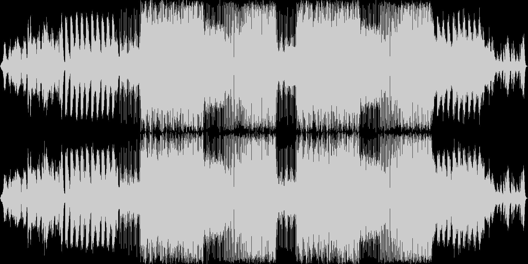 アンビエントなSFXに続いて、不可思議…の未再生の波形