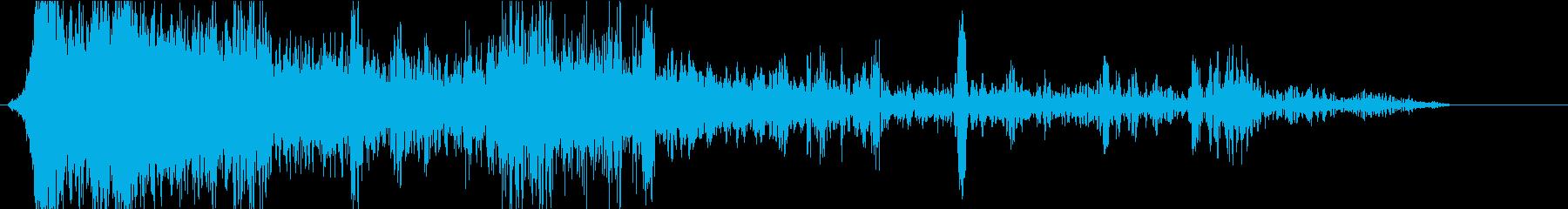 雷05の再生済みの波形