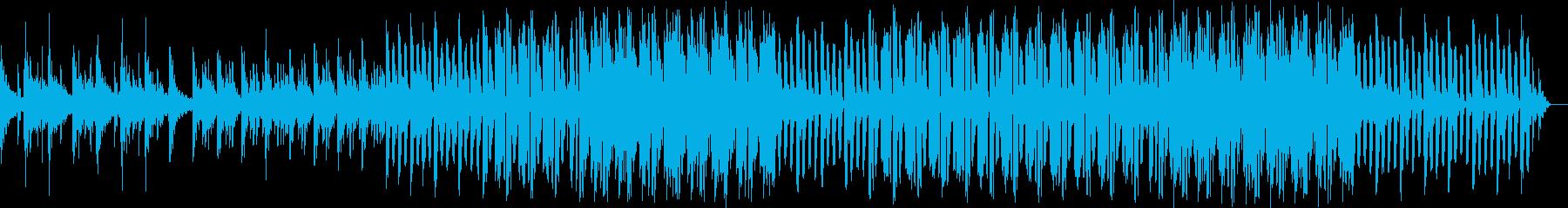 都会的なオリエンタルハウスミュージックの再生済みの波形