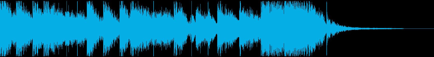 和風EDMキャッチ/ロゴ【ポチ③】の再生済みの波形