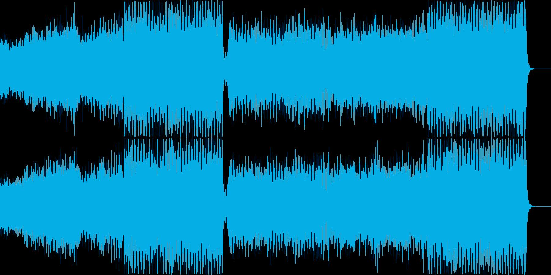 洋楽、爽やか、夏、幸せ、トロピカルの再生済みの波形