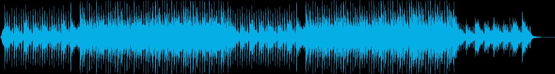 おしゃれでクールなVLOG向けBGMの再生済みの波形