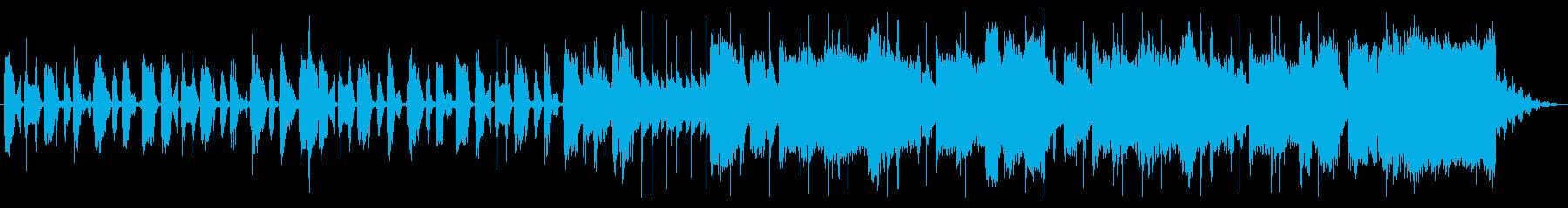 思わず体が動くようなビッグバンド系ポップの再生済みの波形