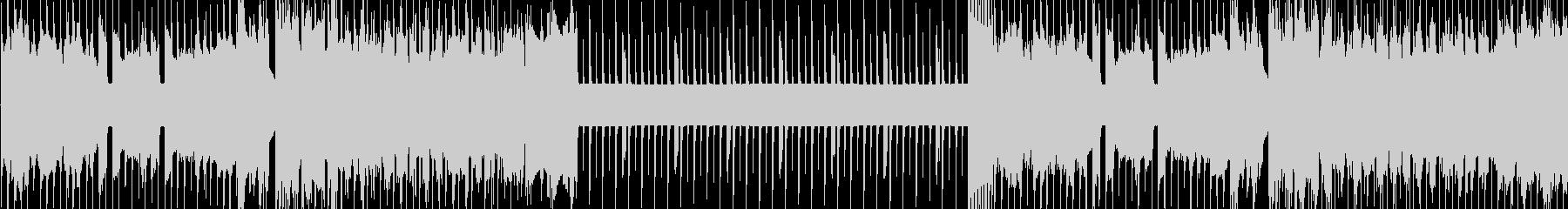 8bit戦闘BGM【ループ】の未再生の波形