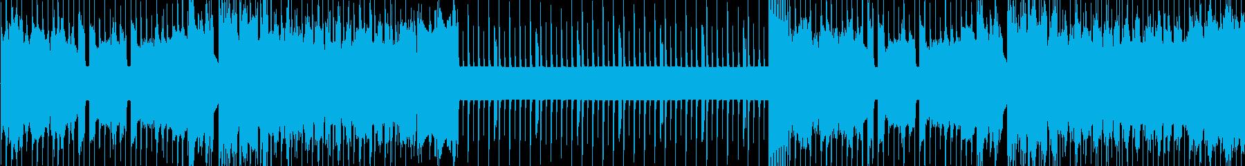 8bit戦闘BGM【ループ】の再生済みの波形