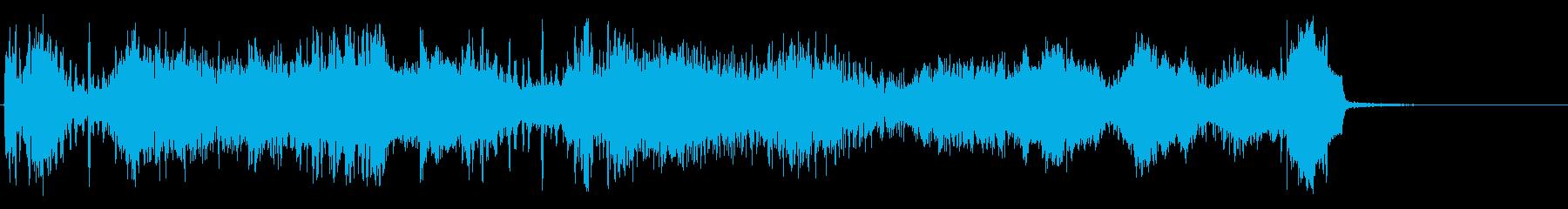 マスコンフュージョンの再生済みの波形