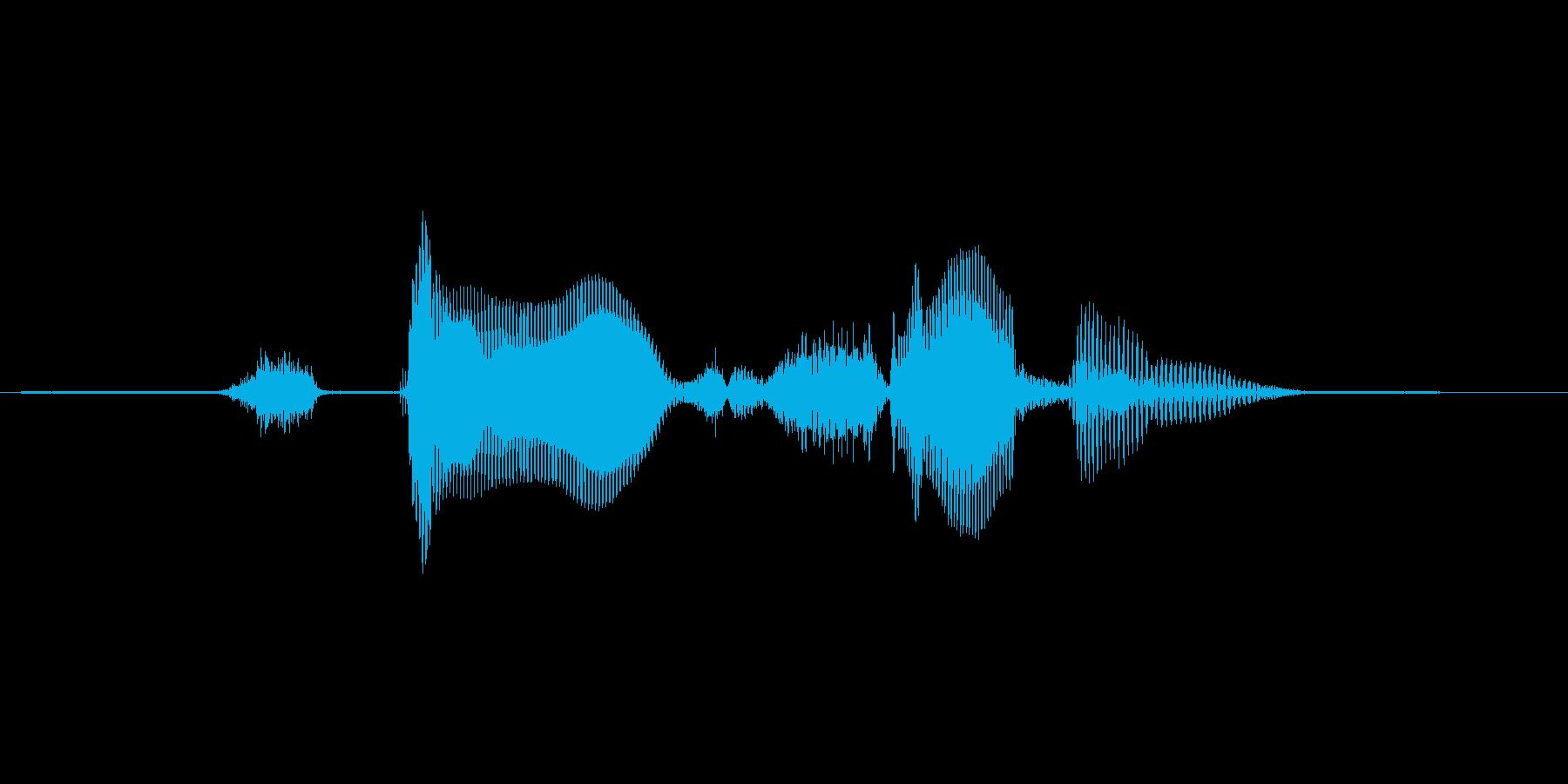 ステージ7(せぶん)の再生済みの波形