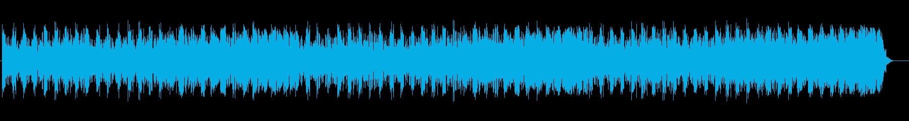 幻想的で重みのあるミュージックの再生済みの波形