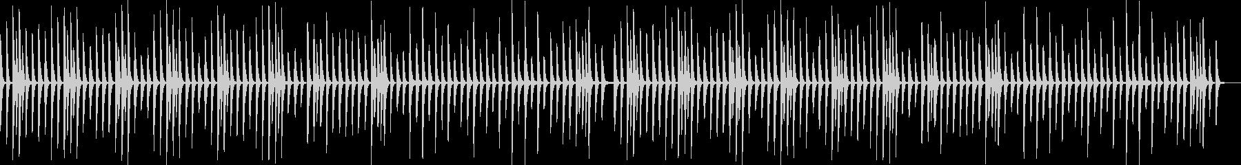 ピアノ曲 料理・日常・レッスンの未再生の波形