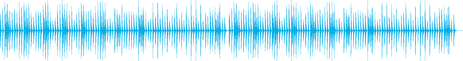 ピアノ曲 料理・日常・レッスンの再生済みの波形