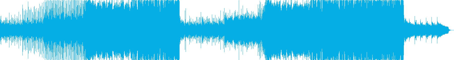 シンプルでお洒落な雰囲気のエレクトロの再生済みの波形