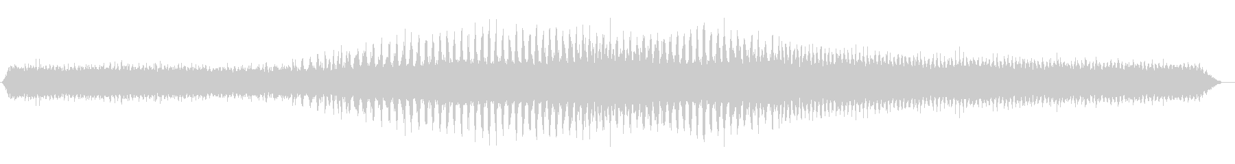 クマゼミの鳴き声(夏、蝉、朝、午前中)の未再生の波形