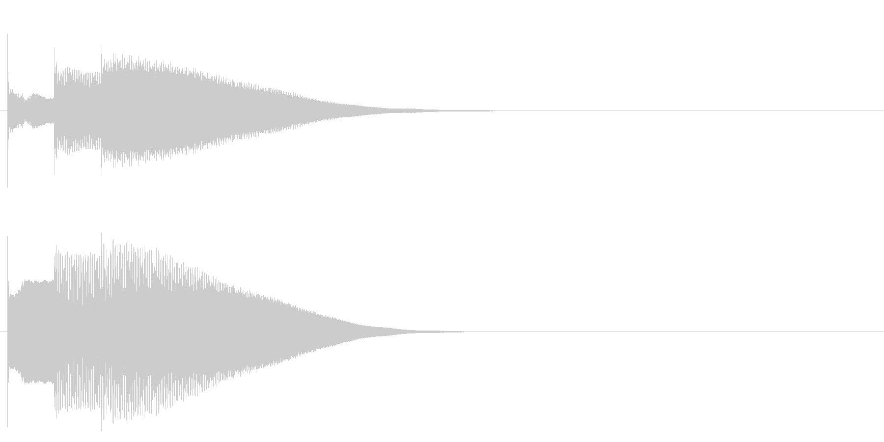 グロッケン系 決定音08(中)(速)の未再生の波形