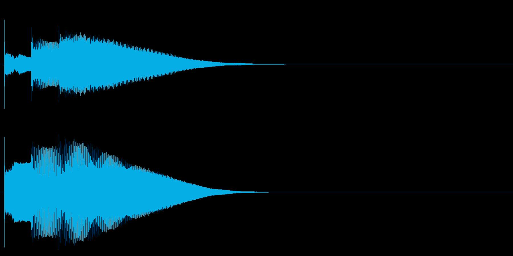 グロッケン系 決定音08(中)(速)の再生済みの波形