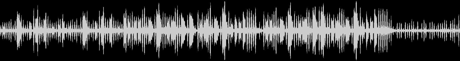 リコーダーの元気で可愛い曲1_ループの未再生の波形