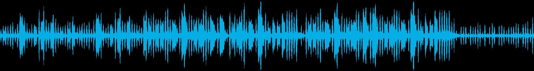 リコーダーの元気で可愛い曲1_ループの再生済みの波形