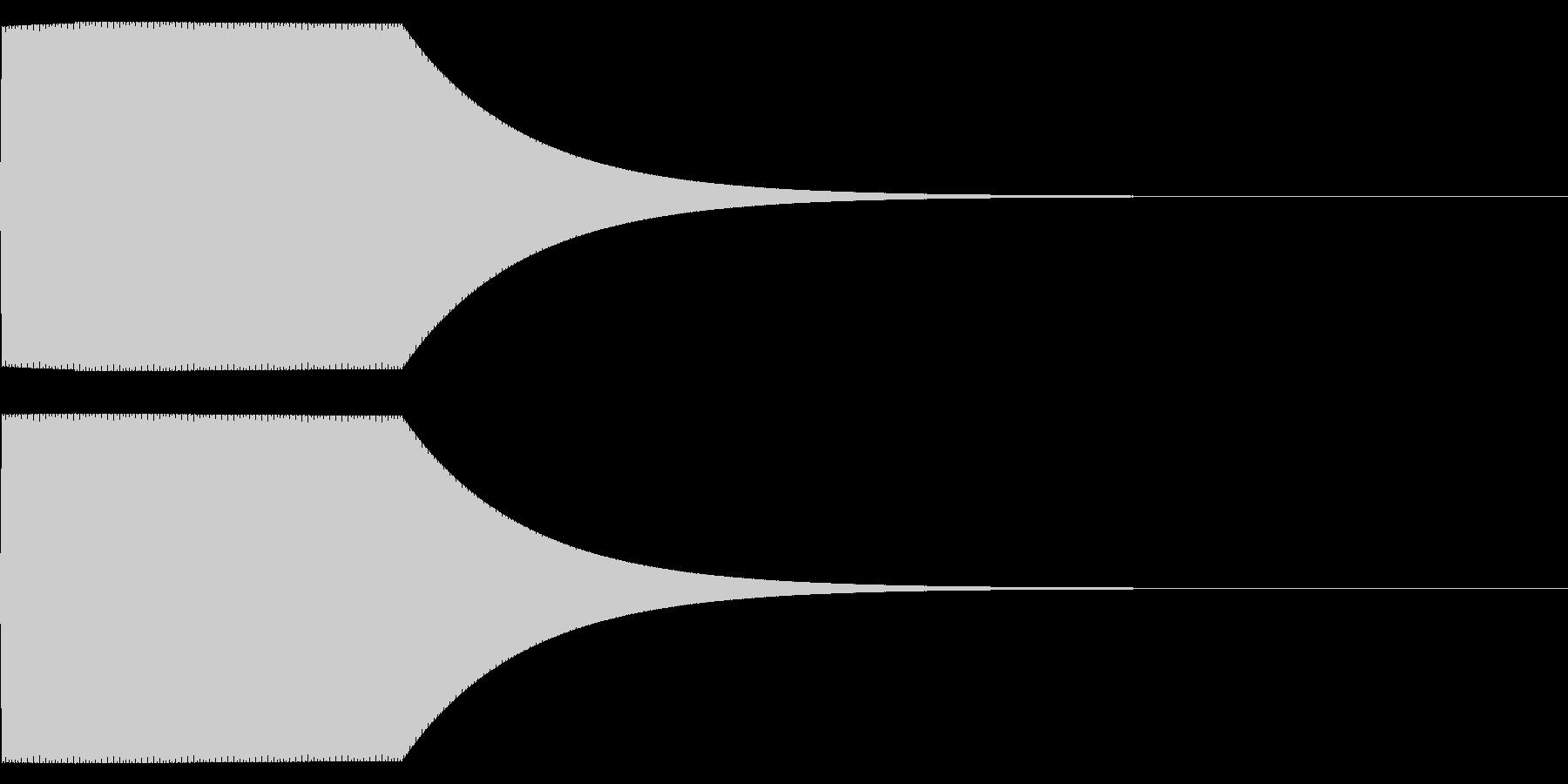 【ボタン・クリック・選択・決定】電子系の未再生の波形