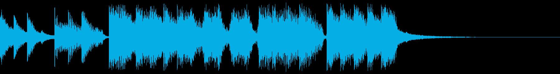 ストレートスルーALT。混合の再生済みの波形