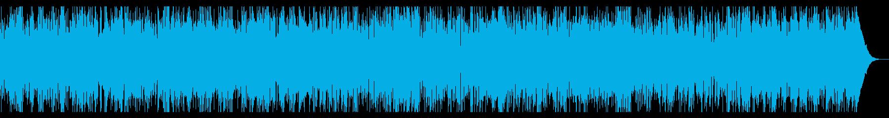 バイオリン中心のヨーロピアンケルト音楽の再生済みの波形