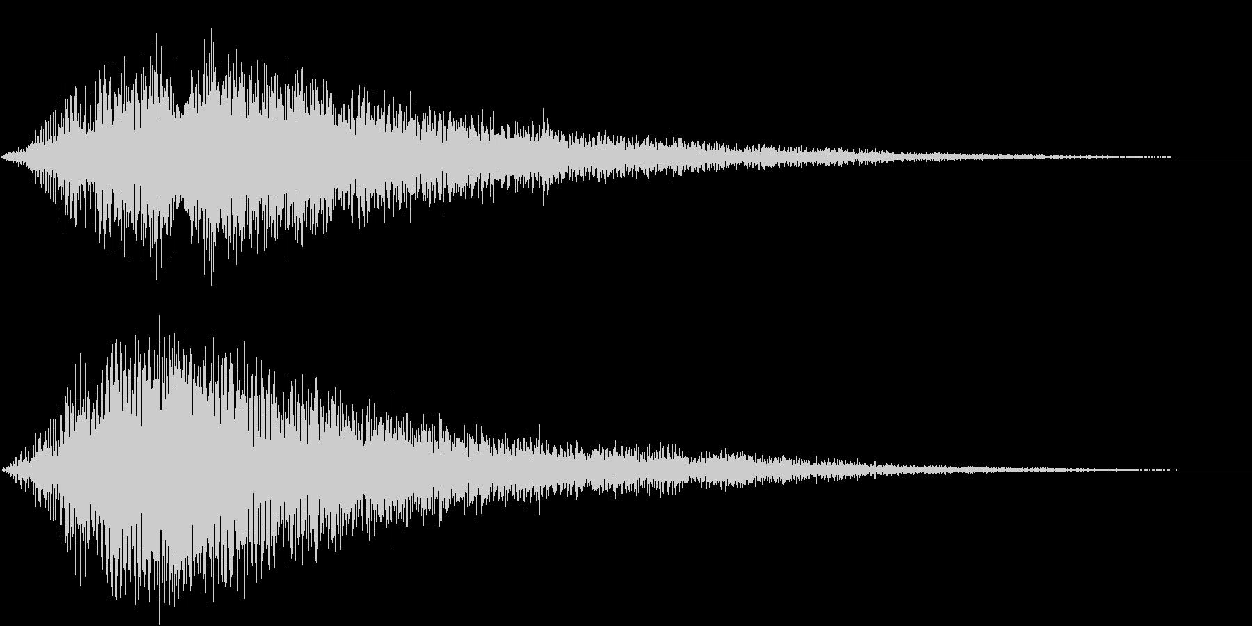 VOX ダーティーなコーラスPAD 5の未再生の波形