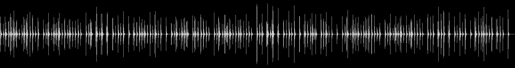 花 卓上木琴の未再生の波形