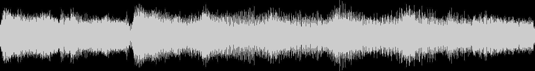 ゆったりとしたジャジーなジングル_ループの未再生の波形