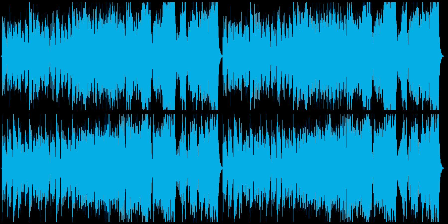 昔話・ほのぼの和風曲の再生済みの波形