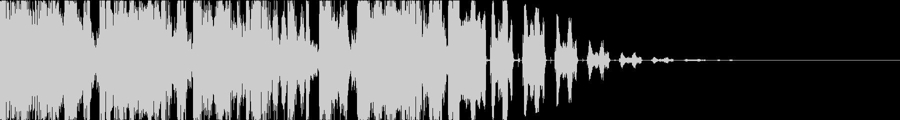ヒップホップ・DJスクラッチ・ジングルbの未再生の波形