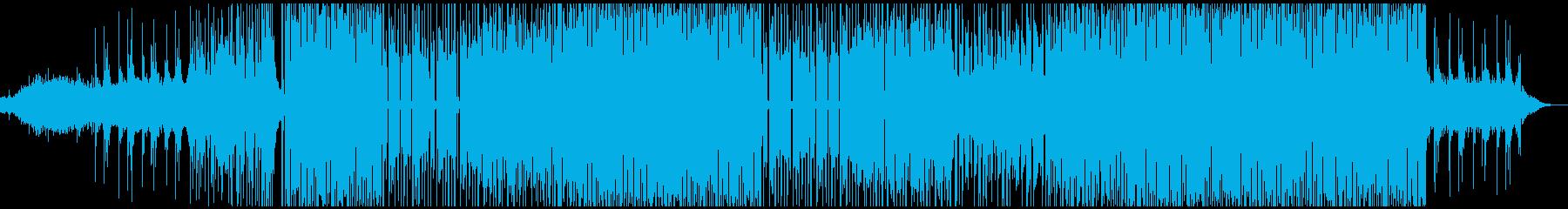おしゃれで不思議なエレクトロダンスポップの再生済みの波形