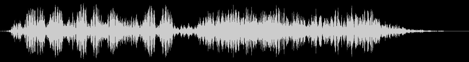 スライムなどが蠢く音タイプC#7の未再生の波形