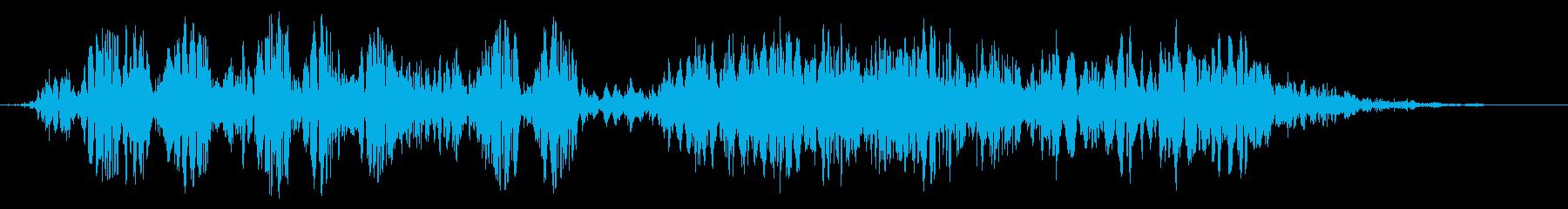 スライムなどが蠢く音タイプC#7の再生済みの波形