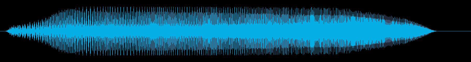 プヨプヨプヨ(成長)の再生済みの波形