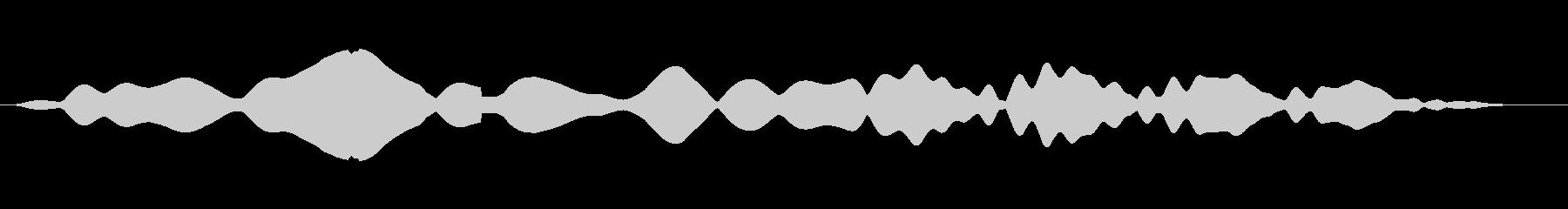 素材 シンプルムービングサインロング02の未再生の波形