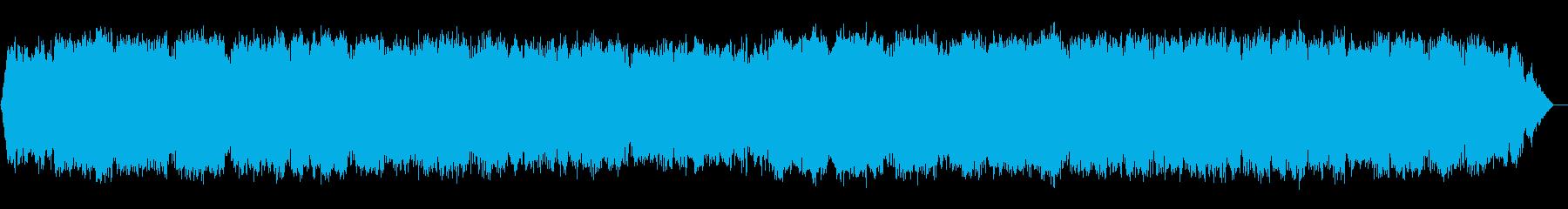 おしゃれな竹笛の静かなジャズバラードの再生済みの波形