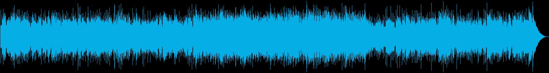 アコーディオンのフォークロック調バラードの再生済みの波形