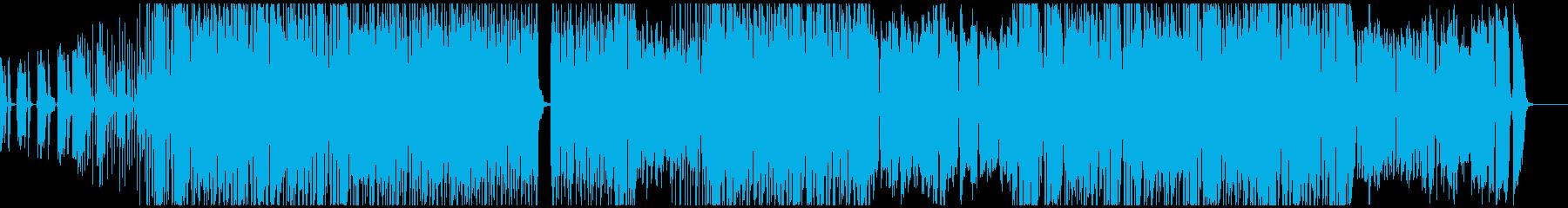 ファンキーで明るく楽しいポップスの再生済みの波形
