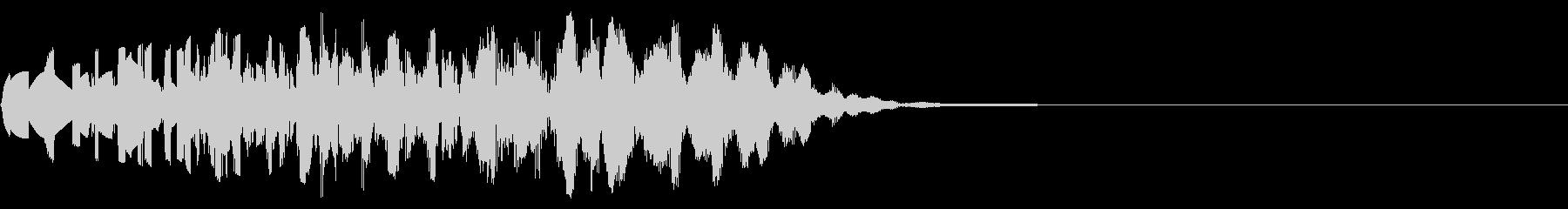 ファミコン風_打撃音1の未再生の波形