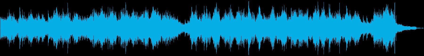 癒されるピアノソロ_午後の一時の再生済みの波形