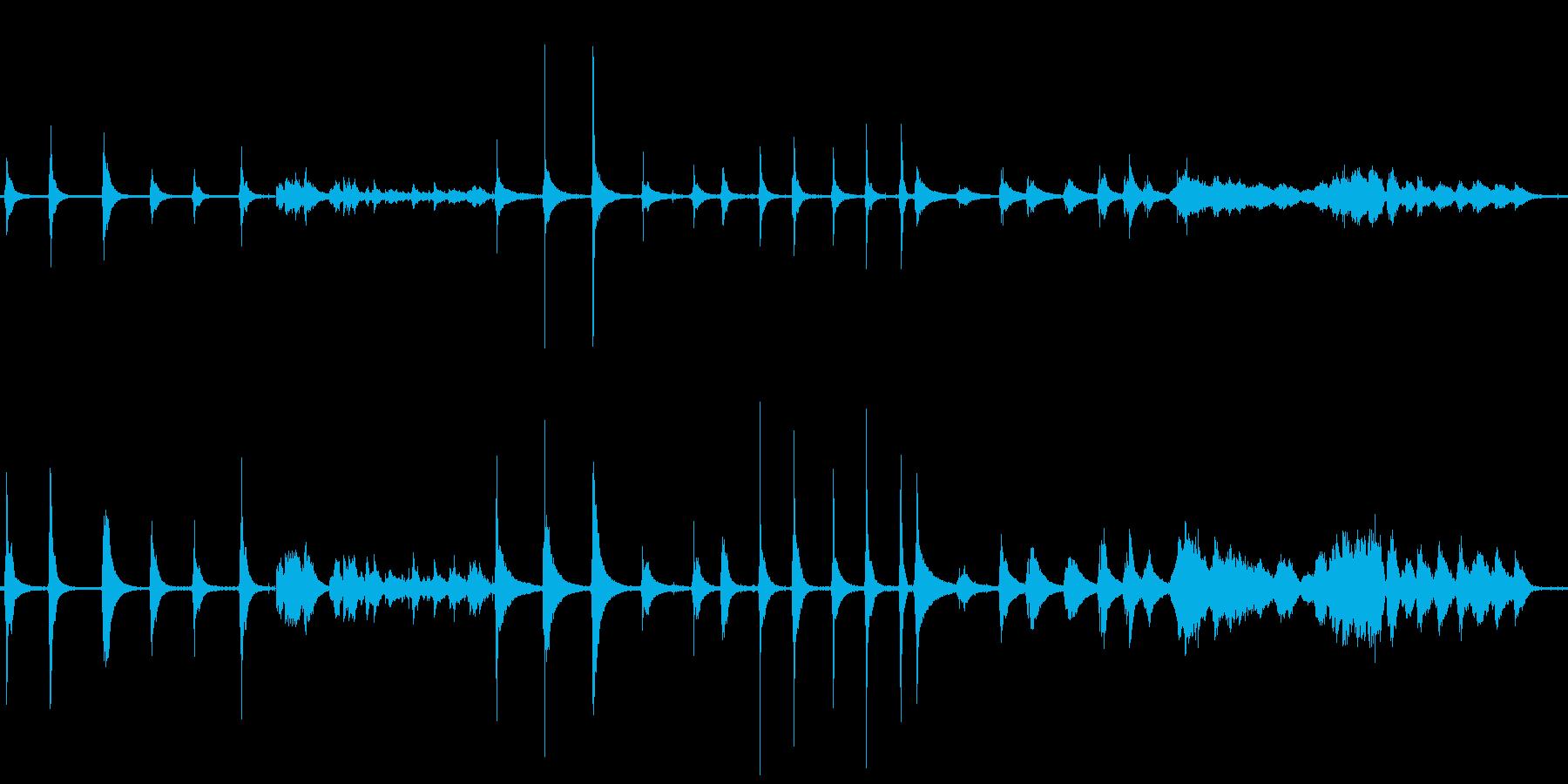 ベルマジックボール多数の再生済みの波形